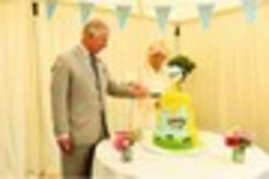 charlie and the custard factory: royal visit for devon's ambrosia...
