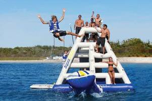 total wipeout-style water park unveils new feature for the summer holidays
