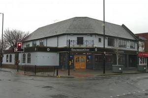 bar stools and pool cues used as weapons during burton pub football brawl, jury is told
