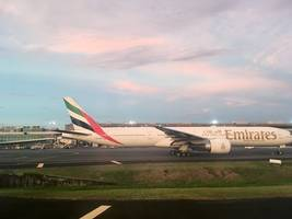 Emirates aircraft nearly collides with Air Seychelles plane