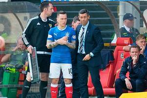 Former Rangers star Barrie McKay slams Pedro Caixinha after Ibrox exit