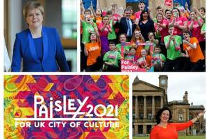 great news for paisley as first minister backs our city of culture bid