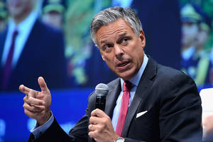 Donald Trump Announces His Intention To Nominate Jon Huntsman As Russia Ambassador Amid Investigations Into Russian Meddling In 2016 Election