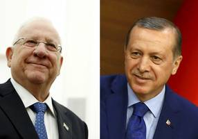Erdogan to talk with Rivlin about Temple Mount violence