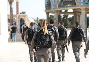 Military increases presence around Temple Mount as controversy continues to escalate