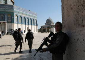Watch: Police release video footage of Temple Mount terror attack