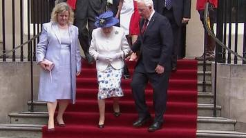 Canada governor general touches Queen
