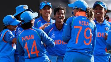 Women's World Cup: India beat Australia to set up final against England