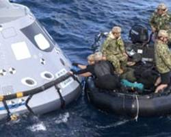 in gulf of mexico, nasa evaluates how crew will exit orion