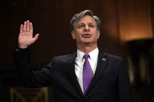 Senate Judiciary Committee Approves FBI Nominee Christopher Wray