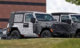 diesel-powered jeep wrangler (jl) is go for 2019my, two-door sahara discontinued