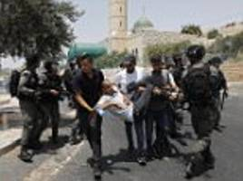 Clashes after Israel restricts Jerusalem Old City prayers