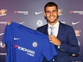 Chelsea confirm Alvaro Morata signing from Real Madrid