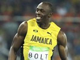 usain bolt booted andre de grasse out of monaco 100m race