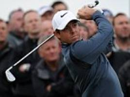 when he's bouncing, there's no one quite like rory mcilroy