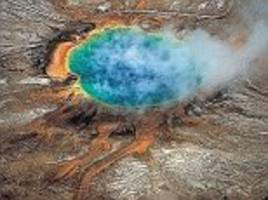 yellowstone has now suffered over 1,200 miniquakes