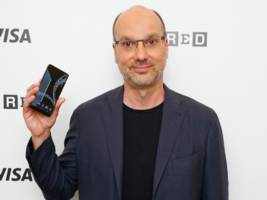 the new smartphone from the creator of android may start shipping in a few weeks