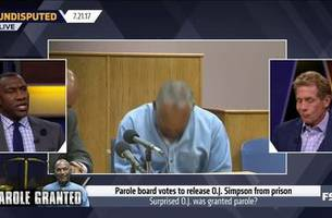 shannon and skip break down how o.j. simpson nearly cost himself his chance at parole | undisputed