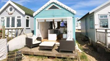 'most expensive' beach hut up for sale at mudeford spit