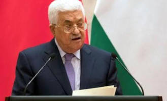 palestinian president mahmoud abbas cuts off diplomatic ties with israel