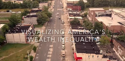 visualizing america's wealth inequality (from the sky above baltimore)