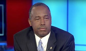 ben carson: i'm glad trump drawing fire 'so i can get stuff done'