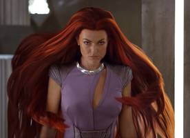 comic-con: 'marvel's inhumans' trailer shows medusa's power and ellen woglom's mystery character