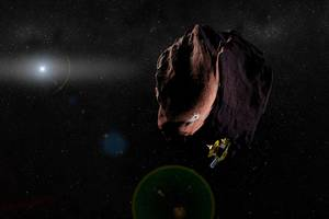the team that took us to pluto briefly spotted their next target at the edge of the solar system