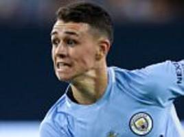 man city boss pep guardiola left speechless by phil foden