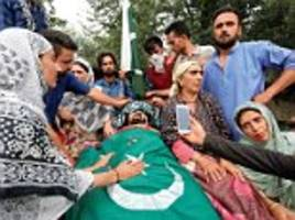 terrorists killed in j&k after car chase and gun battle