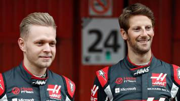 formula 1: haas to retain romain grosjean and kevin magnussen for 2018