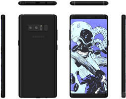 Renders show the Galaxy Note 8 is all about that Infinity Display