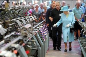want to make clothes fit for the queen? this derbyshire knitwear firm is recruiting