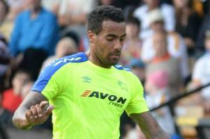 tom huddlestone was 'ridiculously good' in derby county's friendly win over port vale, says opponent