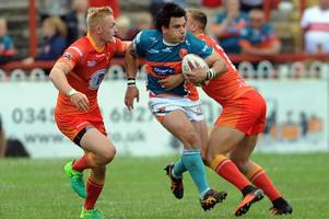justin carney - i've got to earn my wing spot at hull kr