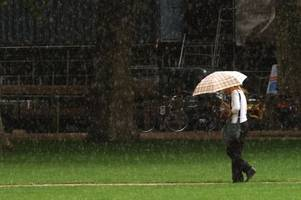 Met Office forecasters say it could hail in Bristol with weather warning still in place