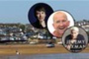 check out the big names coming to north devon for the appledore...