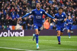 watch: 'roma vs arsenal in race for riyad mahrez' - who is winning race for leicester city star?