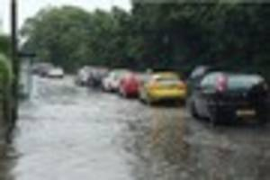 flooding causes traffic chaos across plymouth - live updates
