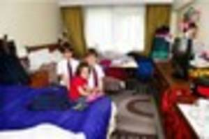family-of-five in immigration fight put up in clayton hotel for...