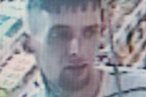 police hunt man over theft of jewellery, handbag, suitcase and laptop from car