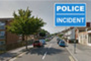 Man arrested on suspicion of possessing a firearm after armed...