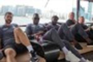 all aboard! watch crystal palace stars cruise around hong kong