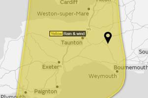 Met Office updates weather warning to include risk of exceptionally torrential rain