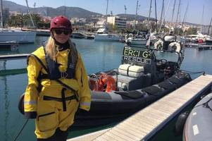 dumfries aid volunteer quit the rat race to support refugees in greece