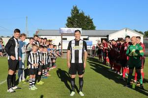 Threave Rovers boss Scott Wilby celebrates 10 years at Meadow Park