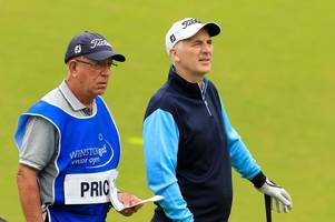 phillip price hoping home comforts prove the difference as he makes his senior open bow at royal porthcawl