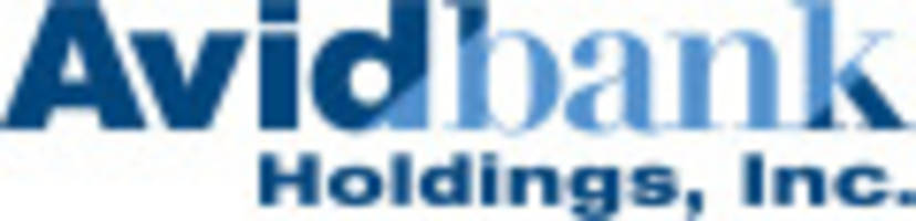 avidbank holdings, inc. announces net income of $1,430,000 for the second quarter of 2017