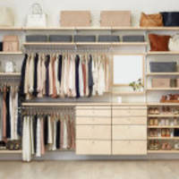 The Container Store Introduces New Additions to elfa Custom Closet Line