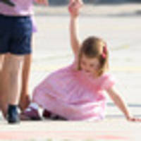 princess charlotte throws tantrum at hamburg airport